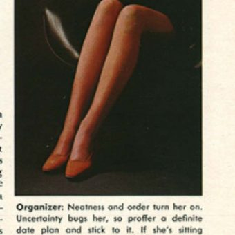 The Langauge of Legs: how a girl deploys her gams reveals far more then just her lower limbs