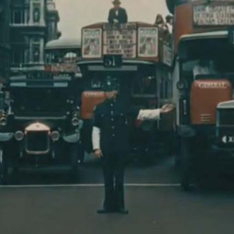 Colour Film of London in 1927 – A Rare Video And Photos