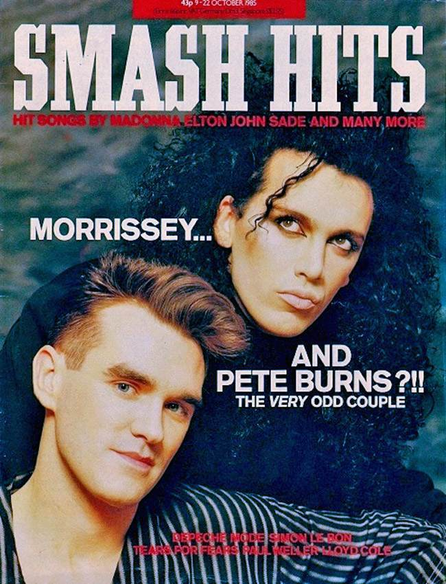 Morrissey and pete burns