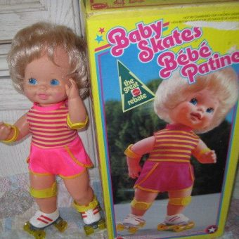 The Creepy Mattel Roller Skating Doll Returns From The 1980s
