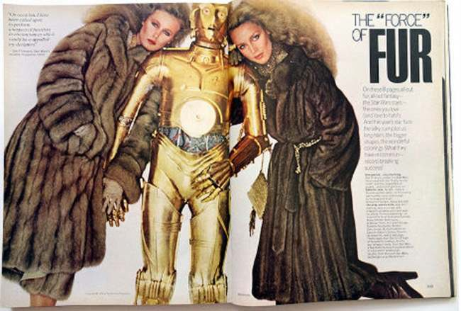 star war vogue 1977
