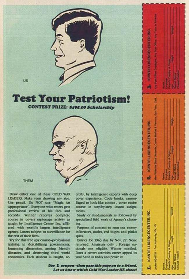 test your patriotism