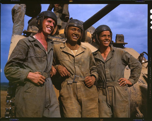 America in colour world war 2 25