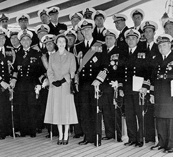 Photos and video: The Coronation Review of The Fleet at Spithead, 1953