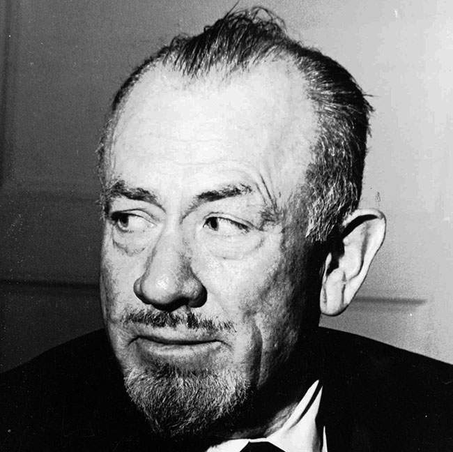"**FILE** This 1965 file photo shows author John Steinbeck winner of the 1962 Nobel Prize for literature. A son and a granddaughter Steinbeck hold the publishing rights to 10 of his early works, including ""The Grapes of Wrath"" and ""Of Mice and Men,"" a federal judge has ruled, turning away a publishing house and others who claimed the rights. U.S. District Judge Richard Owen said in a 10-page order dated Thursday that the rights properly belong to the author's son, Thomas Steinbeck, and granddaughter Blake Smyle. (AP Photo/File)"