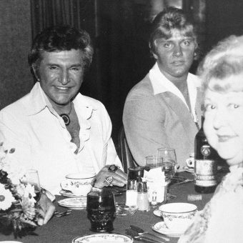 In this photo proof that Liberace's young lover Scott Thorson had a love affair with Michael Jackson?
