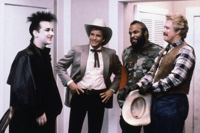FLASHBACK To June 5 1986 Boy George Is On The A Team