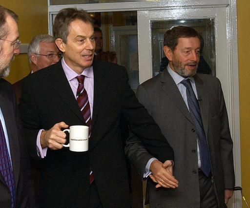 Tony Blair Visit to Community Centre in Leeds