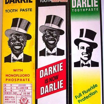 Racism in the 1930s: Darkie toothpaste