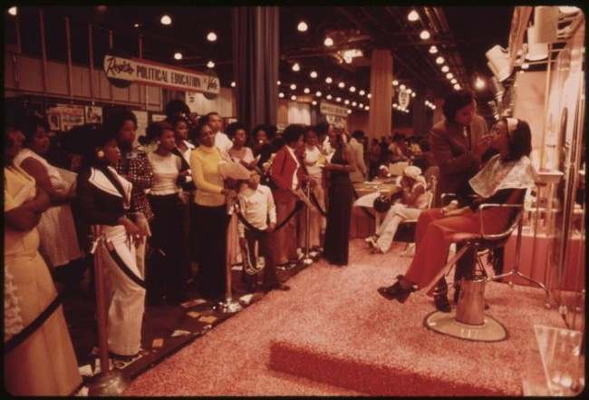 Black Products And Services Was One Of The Themes At The Annual Black Expo Held In Chicago. Also Present Were Black Art And Culture, Education, Talent, A Voter Registration Drive And Other Aspects Of Black Consciousness. The Aim Is To Make Blacks Aware Of Their Heritage And Capabilities, And Help Them Towards A Better Life, 10/1973