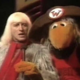1973: Jimmy Savile hid in a Womble suit on Top of The Pops to leer at young girls