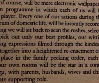In 1977 JG Ballard predicted the dawn of social media in Vogue in 1977