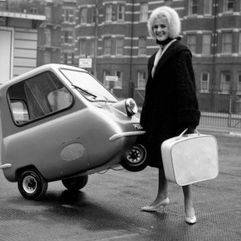 The Peel P50 car was made for pulling