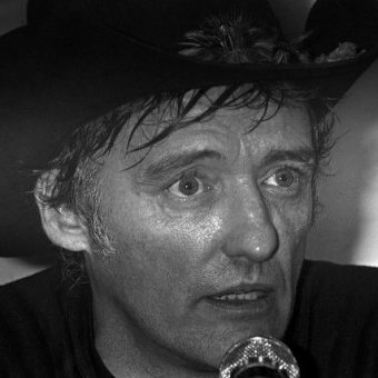 In 1983 Dennis Hopper performed this Russian Dynamite Death Chair Act in Houston