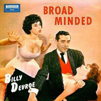In the 1950s Amy Winehouse appeared on the album cover Billy Devroe's Broad Minded?