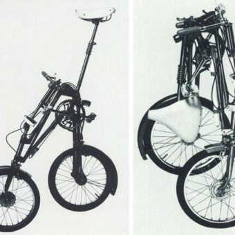 In 1979 the British Cycling Bureau delivered these 'Bikes of the future'