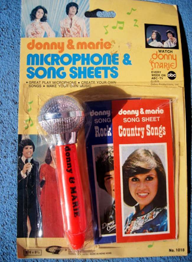 Retro Toys Donny And Marie Osmond Action Figures Tv