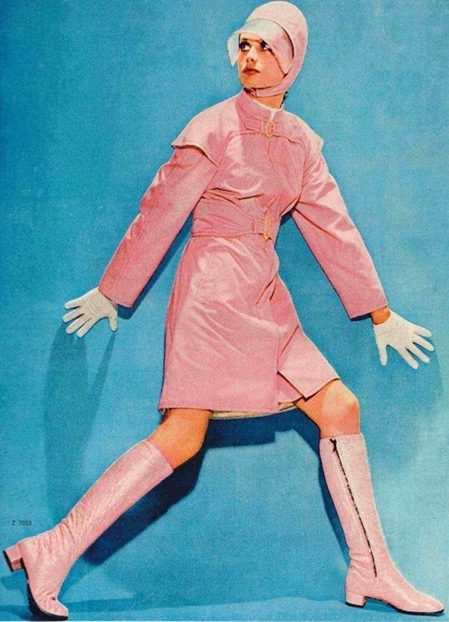 1960s Space Age Fashion A Retrospective Flashbak