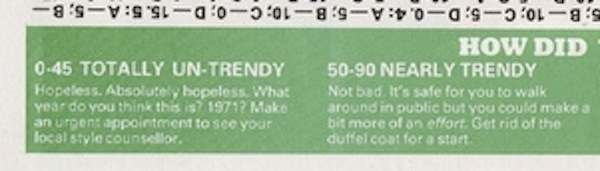 1980s trendy answers 1