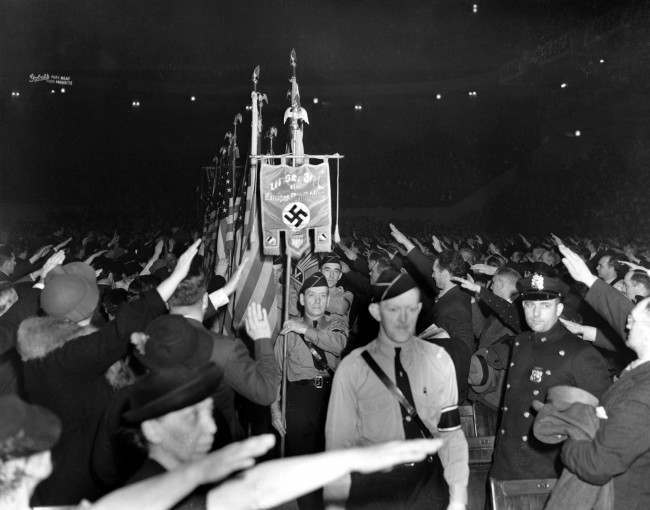 Rally Bund Party 1939 NYC