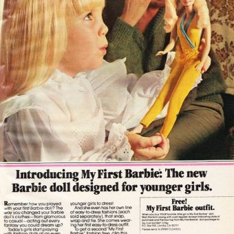 1981: Heather O'Rourke Gets Her First Barbie Doll