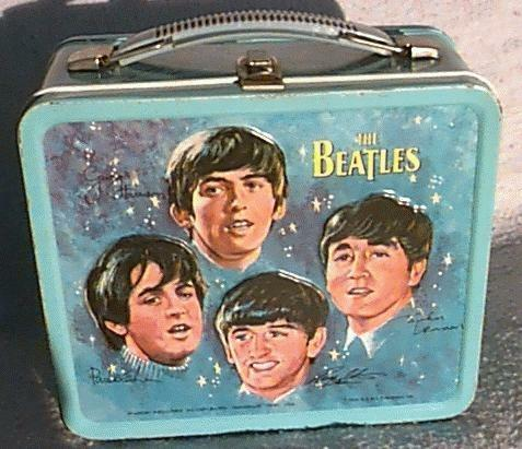 beatles lunchbox