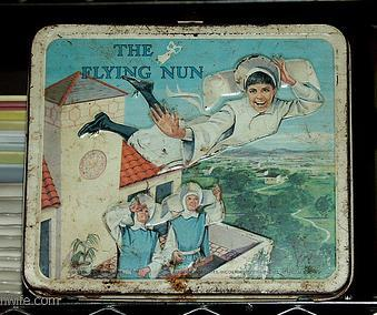 flying nun lunchbox