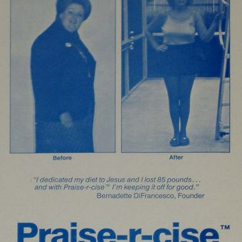 Great records: Praise-R-Cise is your musical Christian Aerobics weight-loss plan