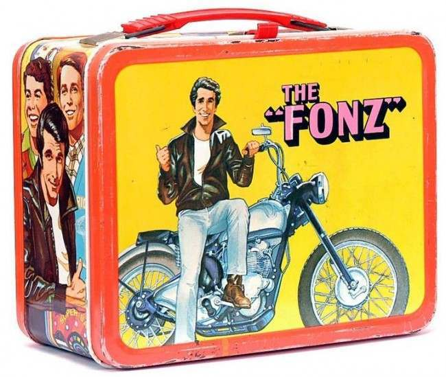 the fonz lunch box