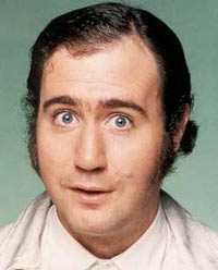Let Us Look At Andy Kaufman's Best, While He Fakes His Death