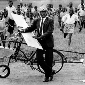"Flashback To 1967: African Schoolteacher Sanderson Chirambo And His Man-Powered Aircraft ""Limba IV"""