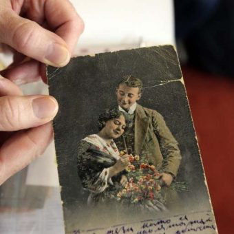 "The ""Grande Collecte: Photographs Found On Killed Enemy Soldiers In World War 1"