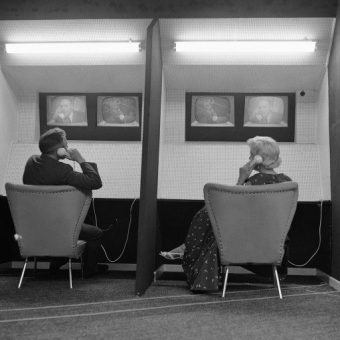 Video Dating In 1957 At The Radio and Television Fair