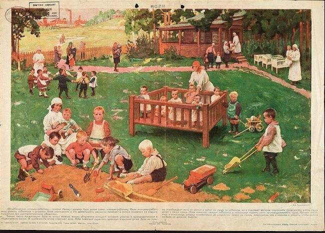 SOVIET Child Care Posters 14