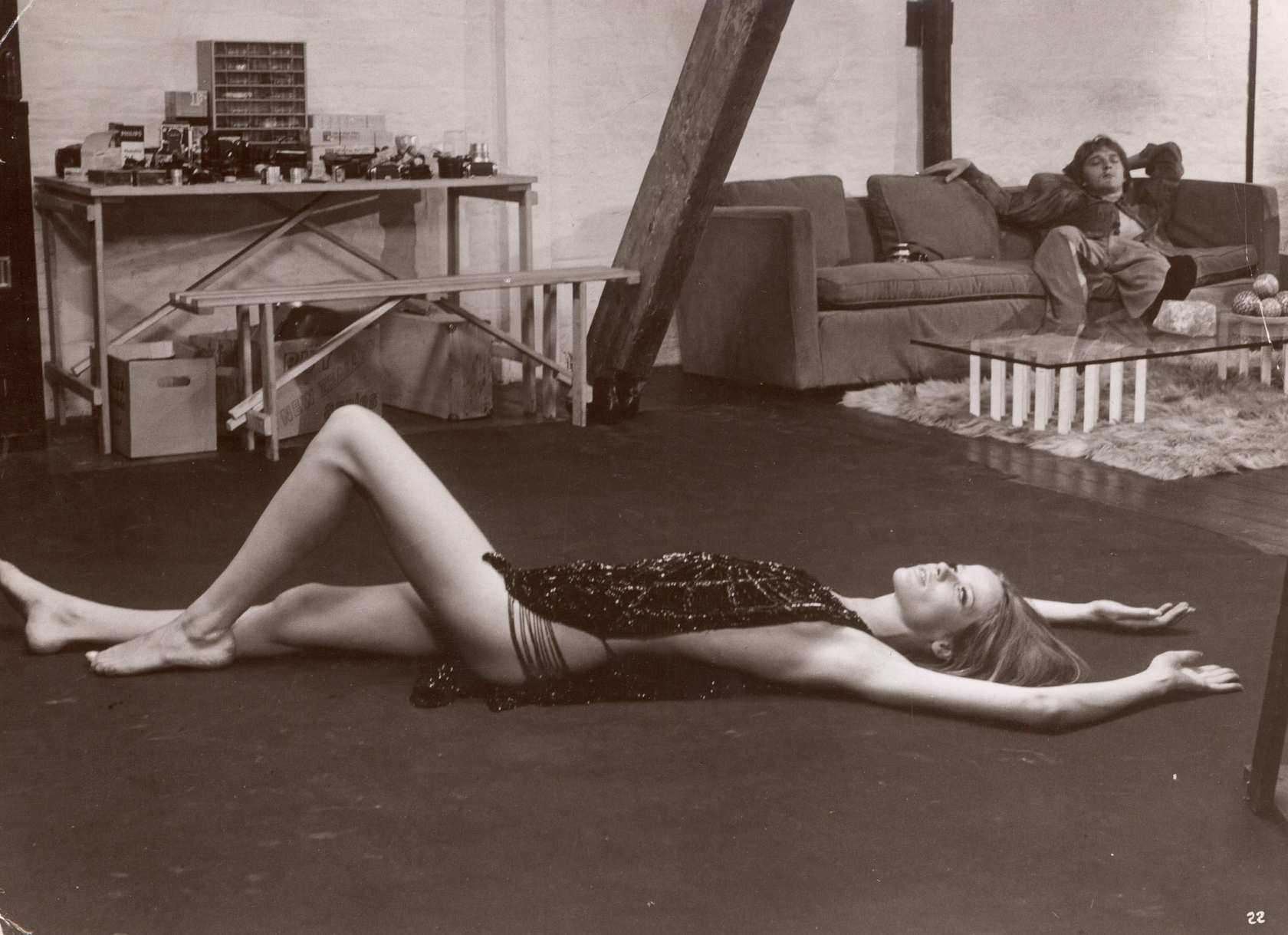 Veruschka and Hemmings from Blow-Up