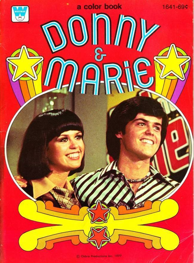 Donny And Marie Osmond Go Cow Milking On Skis A 1977