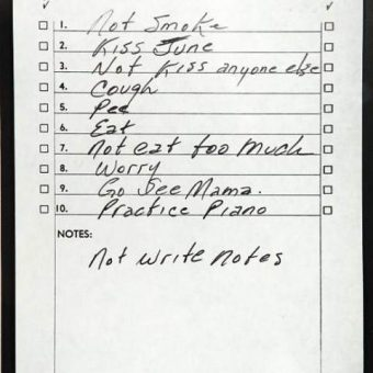 To-Do Lists: Why Johnny Cash, Benjamin Franklin And The Rest of Us Make Them