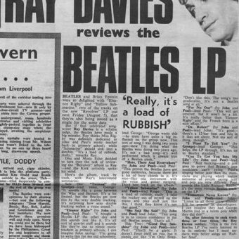 Ray Davies Reviews The Beatles Revolver: 'Really It's A Load Of Rubbish'