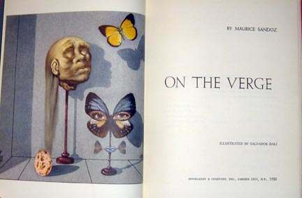 on the verge dali