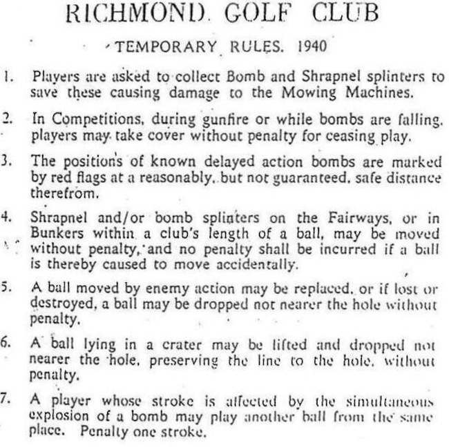 richmond golf