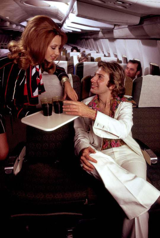 70s air travel