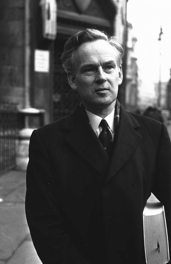Guiness Book of Record's Ross McWhirter was shot dead as he stood in the doorway of his house in Village Road, Enfield, Middlesex, on November 27th 1975. PA/PA Archive/Press Association Images