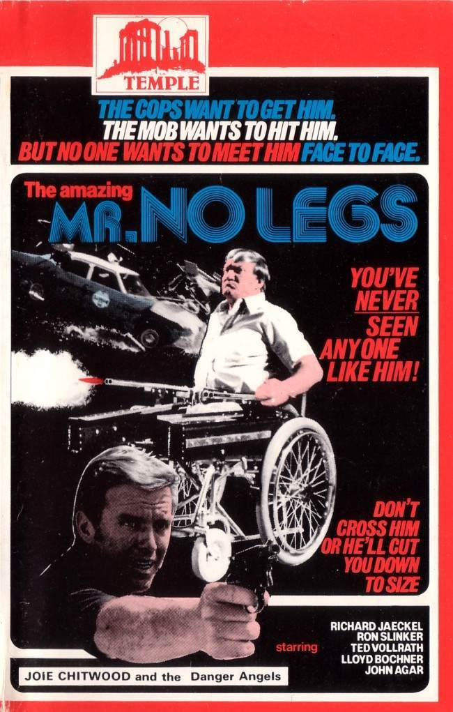 THE AMAZING MR NO LEGS