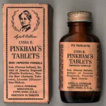 Lydia Estes Pinkham Wanted To Cure 'Hysterical Women' Of Their Menstrual Weaknesses