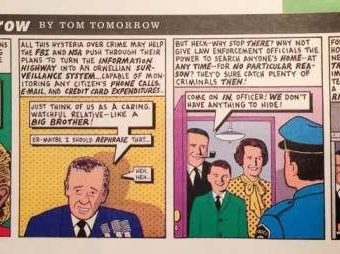 In 1994 Tom Tomorrow Predicted The NSA Would Spy On All Of Us