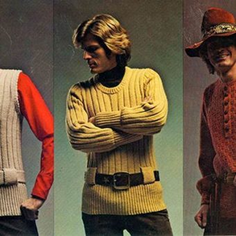 A Field Guide to 1970s Men's Sweaters