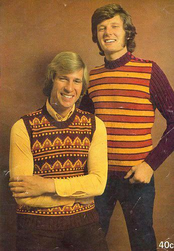A Field Guide to 1970s Men\u0027s Sweaters , Flashbak