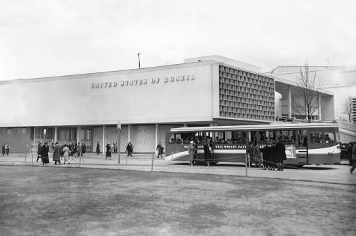 The Brazilian building at World's Fair named in New York, houses the Brazilian exhibit at the Fair which opened officially, April 30, 1939. (AP Photo)
