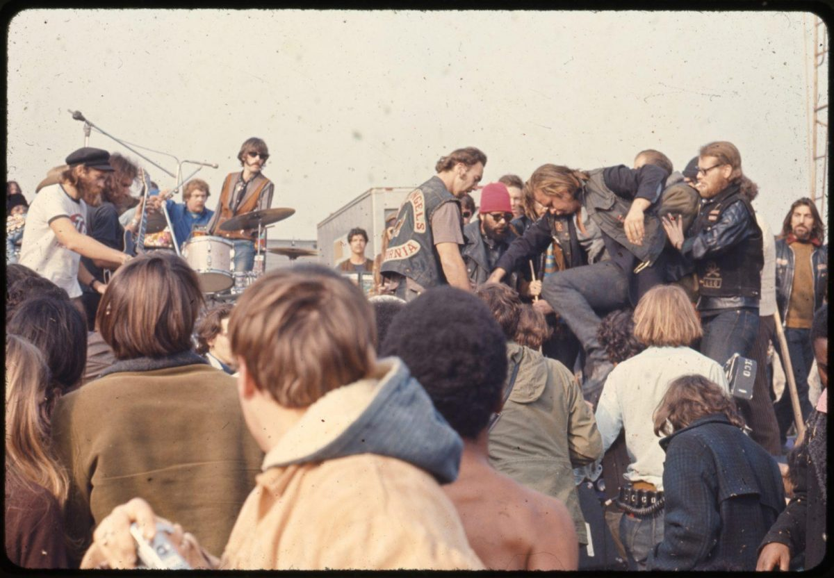 Altamont Speedway Free Festival rolling stones