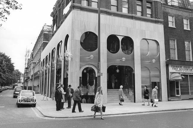 A drugstore in King's Road, Chelsea, London, which has a cocktail bar and a boutique. PA/PA Archive/Press Association Images